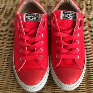 Converse Neon Pink Sneakers